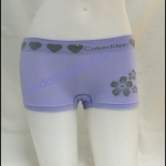 ชุดชั้นในผู้หญิง CK BOXER สีม่วงขอบใหญ่