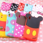 HTC Desire 816 - Cartoon silicone case [Pre-Order]
