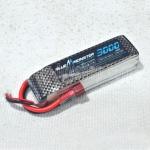 แบตเตอรี่ Blue monster Lipo 11.1V3000 mAh