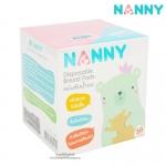 [กล่อง30ชิ้น] Nanny แผ่นซับน้ำนม Disposable Breast Pads