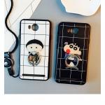 เคสมือถือ Huawei y3ii เคสซิลิโคน+แหวนนิ้วลายการ์ตูน [Pre-Order]