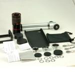ชุดเลนส์พร้อมขาตั้ง สำหรับ iPhone4/4s [Pre-Order]