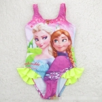 พร้อมส่งค่ะ ชุดว่ายน้ำลายเจ้าหญิง Frozen ขวัญใจหนู เหลือไซส์ 6T(100)/ 8T(110)/ 14T(140)