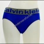 ชุดชั้นในผู้หญิง CK สีน้ำเงิน ขอบเทาพิมพ์ logo ck