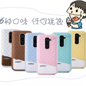 เคส LG Optomus G2 - เคสFabitoo iCe Cream silicone case[Pre-Order]