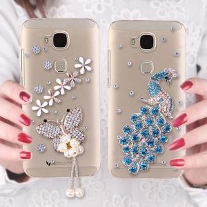เคสมือถือ Huawei G7 Plus- เคสประดับคริสตัล สวารอฟสกี้ (พรีออเดอร์)