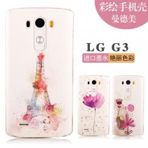 เคส LG G3- เคสแข็งลายการ์ตูน [Pre-Order]
