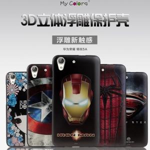 เคสมือถือ Huawei Y6II -เคสซิลิโคนพิมพ์นูน3D [Pre-Order]