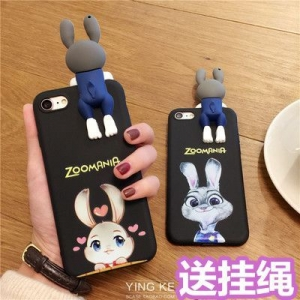 Case Oppo R9s เคสตุ๊กตากระต่ายน่ารัก (พรีออเดอร์)