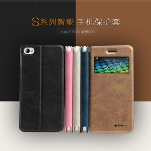 เคสLenovo S90 -Leather diary case [Pre-Order]