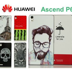 Huawei Axcend P6 - Cartoon Hard Case [Pre-Order]