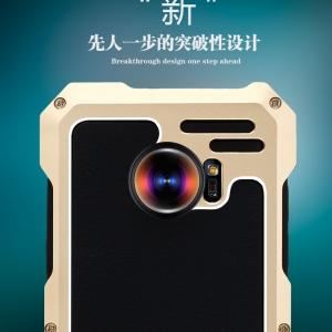 เคสมือถือ Samsung S7edge- เคสเกราะโลหะIRONMan พร้อมเลนส์มุมกว้าง [Pre-Order]
