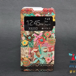 HTC Butterfly - Cartoon Diary Case [Pre-order]