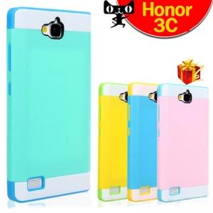 เคส Huawei Honor 3C - Bumper Silicone Case [Pre-order]