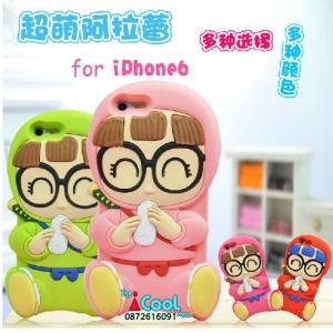iPhone 6- เคสซิลิโคน Arale 3D [Pre-Order]