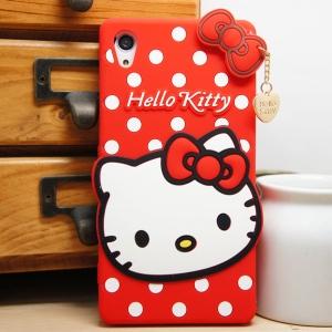 เคส Sony Xperia Z2 - Kitty. Silicone Case [Pre-order]