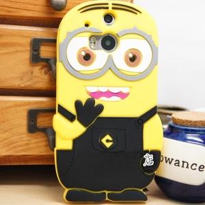 เคส HTC One2 (M8) - Minion silicone case [Pre-Order]