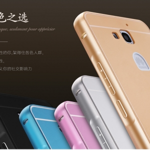 เคส Huawei Honor 3X G750 -Metalic Hard Case#3[Pre-Order]