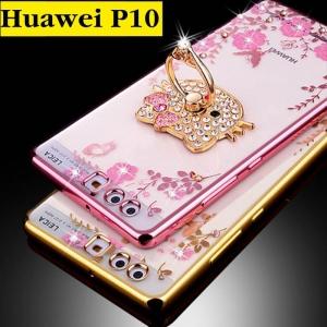 เคสมือถือ Huawei P10 เคสTPU พิมพ์ลายดอกไม้ฟรุ้งฟริ้ง (พรีออเดอร์)