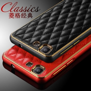 เคส Vivo X5 - Metalic+Leather Classic Style Case[Pre-Order]