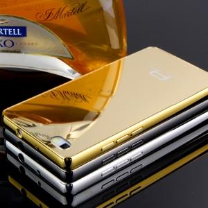 """เคสHuawei Ascend P8 5.2"""" - เคสโลหะ ฝาครอบเงา Luxury Metal Case[Pre-order]"""