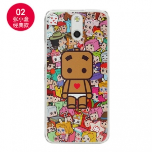 เคส HTC E8 - Cartoon Diary Case [Pre-Order]
