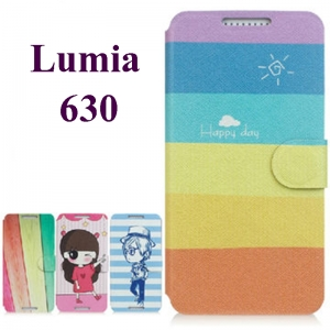 เคส Nokia Lumia 630 - Cartoon Diary Case [Pre-Order]