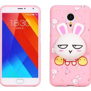 เคสมือถือ Meizu MX5 - เคสลิโคน กระต่าย เก็บสายหูฟัง ติดลิขสิทธิ์ทุกตัวน้า [Pre-Order]