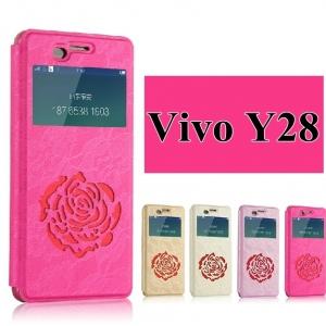 เคส Vivo Y28 -Rose Diary case[Pre-Order]