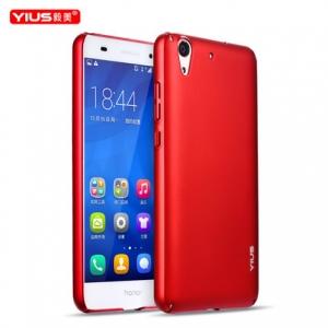 เคสมือถือ Huawei Y6II - เคสแข็งผิวนุุ่ม Yius เกรดA [Pre-Order]