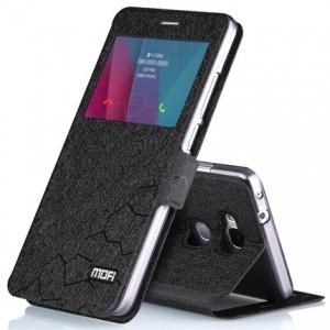 เคส Huawei GR5 - Mofi เคสฝาพับแบบมีหน้าต่างรับสาย แถมฟรี ฟิล์มกระจกcase [Pre-Order]