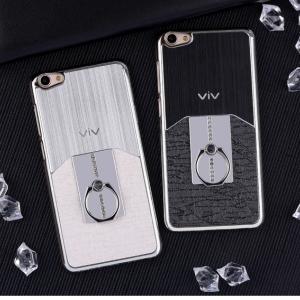 เคสมือถือ Vivo V5 Plus เคสแข็งชุบสีโครเมี่ยม สุดหรู (พรีออเดอร์)