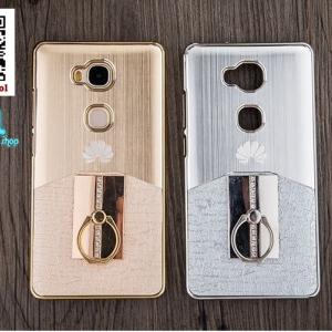 เคส Huawei GR5 - เคสแข็งสีโลหะชุบ Free แหวน+ฟิล์มกระจก [Pre-Order]