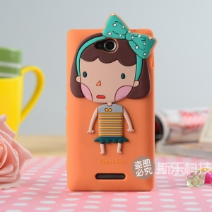 Sony Xperia C -Girl 3D Case [Pre-Order]