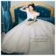 WB40006 ชุดแต่งงาน แขนตุ๊กตาราคาถูก สวยหวานแบบเจ้าหญิง ราคาถูก thumbnail 1