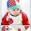 เซตหมวกแก๊ป+ผ้ากันเปื้อน เต่าทอง thumbnail 3