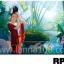 ภาพวาดแนวจริยศิลป์ล้านนา พิมพ์ลงผ้าใบ รหัสสินค้า RP - 17 thumbnail 1