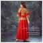 K-0024 พร้อมส่ง ชุดกี่เพ้าสวยๆ หรู สีแดง ราคาถูกกว่าเช่า ชุดยกน้ำชา thumbnail 4