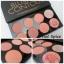 Makeup Revolution Ultra Blush Palette # Hot Spice พาเลทปัดแก้ม thumbnail 1