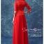 JJ-004 พร้อมส่ง ชุดกี่เพ้าสวยๆ หรู สีแดง ราคาถูกกว่าเช่า ชุดยกน้ำชา thumbnail 3