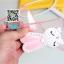 เคสOppo Mirror5 Lite a33 - เคสนิ่มกระต่ายประดับเพชร หูพับตั้งได้ [Pre-Order] thumbnail 8