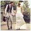 WM40015 ขาย ชุดแต่งงานทรงเอมไพร์ เหมาะมากสำหรับเจ้าสาวอกเล็ก ราคาถูก ที่สุดในโลก thumbnail 1