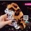 เคสมือถือ Oppo F1s - เคสแข็งประดับขนสัตว์ ติดคริสตัลสุดหรู [Pre-Order] thumbnail 9