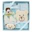 ชุดของขวัญเซตอาบน้ำ 5 ชิ้น (เด็กแรกเกิด 0-12 เดือน) TomTom joyful thumbnail 4