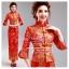 f-0276 ชุดหมั้นพิธีจีน ชุดกี่เพ้าน่ารักสำหรับใส่งานยกน้ำชา สีแดง แขนยาว สวย หรู ดูดีมากๆค่ะ thumbnail 1