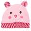 หมวกเด็กแรกเกิดหูตั้งลายสัตว์ thumbnail 6