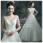 wm40020 ขาย ชุดแต่งงาน โชว์ไหล่สุดอลังการ ราคาถูก สวยหรูแบบดารา thumbnail 1