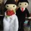 ตุ๊กตาถักคู่แต่งงาน 18 นิ้ว thumbnail 1