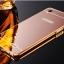 เคส Oppo R7 Lite - เคสฝาหลังกระจกเงา PC Cover + Metal Frame Case [Pre-Order] thumbnail 6