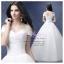 wm5115 ขาย ชุดแต่งงาน เจ้าหญิงเรียบหรู เปิดไหล่ ใส่ถ่ายพรีเวดดิ้ง สวยหรู ดูดีที่สุดในโลก ราคาถูกกว่าเช่า thumbnail 1